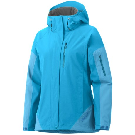 Marmot Tamarack Jacket - Waterproof (For Women) in Blue Sea/Light Sea