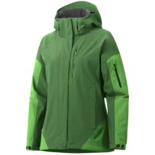 Marmot Tamarack Jacket - Waterproof (For Women) in Dark Grass/Bright Grass - Closeouts