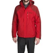 Marmot Tamarack MemBrain® Jacket - Waterproof (For Men) in Team Red/Dark Crimson - Closeouts
