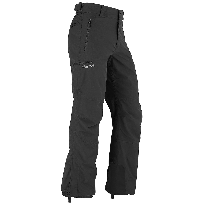 Marmot tamarack pants waterproof for men in black