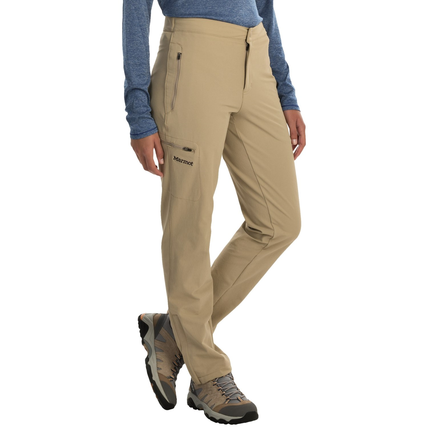 Need a pair of pants that can take you to work, hike a mountain and go straight out to dinner? Yup, these are the ones. The Commuter Khakis are made from a soft 77/23 cotton/polyester blend that is softer than synthetics and dries faster than cotton.