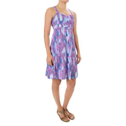 Marmot Taryn Dress - UPF 30, Sleeveless (For Women) in Fuchsia Leaf - Closeouts