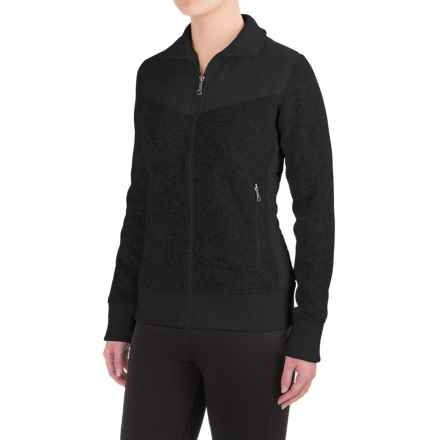 Marmot Tech Sweater (For Women) in Black - Closeouts