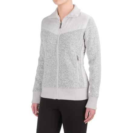 Marmot Tech Sweater (For Women) in Glacier Grey - Closeouts