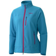Marmot Tempo Jacket - M3 Soft Shell (For Women) in Bluestone - Closeouts