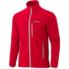 Marmot Tempo Soft Shell Jacket (For Men) in Team Red - Closeouts