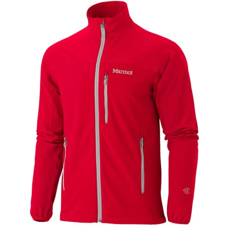 Marmot Tempo Soft Shell Jacket (For Men) in Team Red