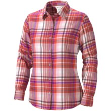 Marmot Thalia Flannel Shirt - UPF 50, Long Sleeve (For Women) in Cherry Tomato - Closeouts
