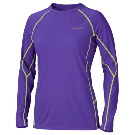 photo: Marmot Women's ThermalClime Sport LS Crew long sleeve performance top