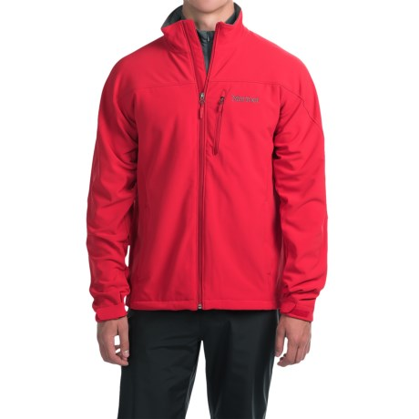 Marmot Threshold II  Soft Shell Jacket (For Men) in Cardinal