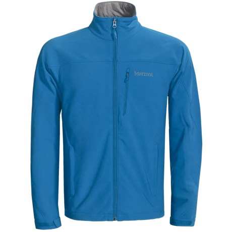 Marmot Threshold II  Soft Shell Jacket (For Men) in Team Red