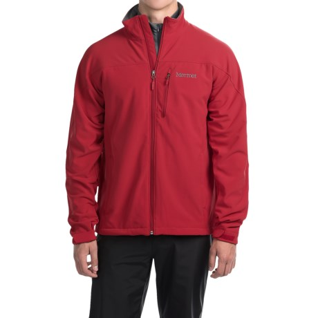 Marmot Threshold II  Soft Shell Jacket (For Men) in Team Red