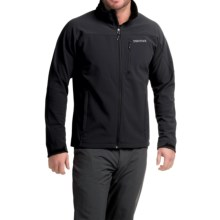 Marmot Threshold Soft Shell Jacket (For Men) in Black - Closeouts