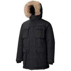 Marmot Thunder Bay Down Parka - 650 Fill Power, Waterproof (For Men) in Black
