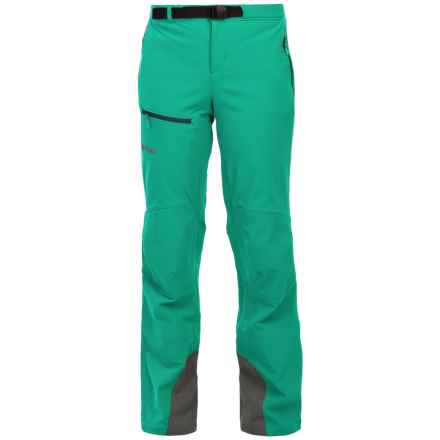 Marmot Tour M3 Soft Shell Pants (For Women) in Gem Green - Closeouts