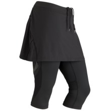 Marmot Trail Breeze Capri Skirt - UPF 30 (For Women) in Black - Closeouts