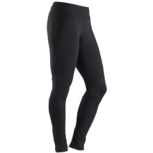 Marmot Trail Breeze CoolMax® Tights - UPF 30+ (For Women) in Black - Closeouts