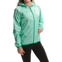 Marmot Trail Wind Hoodie Jacket - Water Repellent (For Women) in Ice Green/Gem - Closeouts