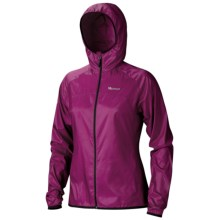 Marmot Trail Wind Hoodie Jacket - Water Repellent (For Women) in Lipstick - Closeouts