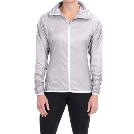 Marmot Trail Wind Hoodie Jacket - Water Repellent (For Women) in Silver - Closeouts