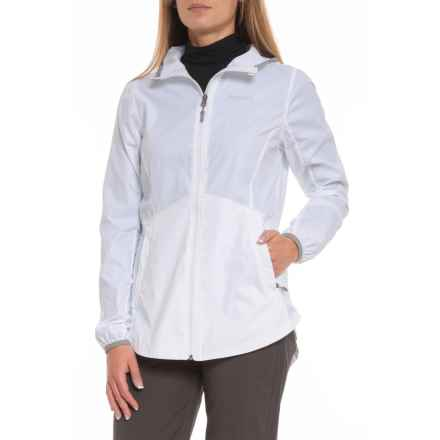 Marmot Trail Wind Hoodie - Zip Front (For Women) in White - Closeouts