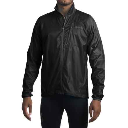 Marmot Trail Wind Jacket (For Men) in Black - Closeouts