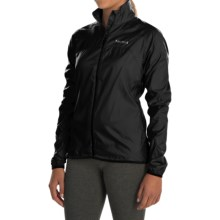 Marmot Trail Wind Jacket - Water Repellent (For Women) in Black - Closeouts