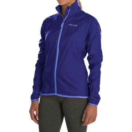 Marmot Trail Wind Jacket - Water Repellent (For Women) in Midnight Purple - Closeouts