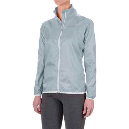Marmot Trail Wind Jacket - Water Repellent (For Women) in Silver - Closeouts