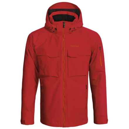 Marmot Tram Jacket - Waterproof, Insulated (For Men) in Team Red - Closeouts