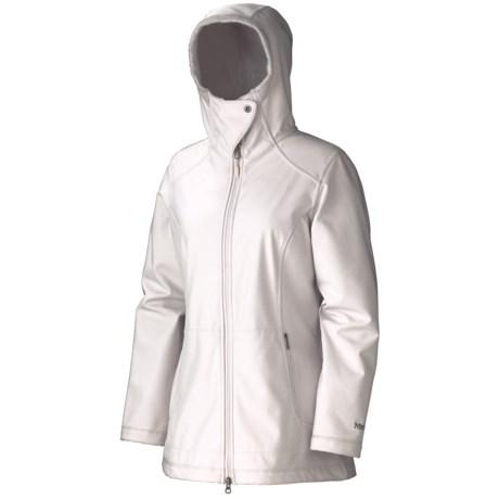 Marmot Tranquility Soft Shell Jacket (For Women) in Whitestone
