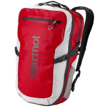 Marmot Trans Hauler Backpack in Team Red/Glacier Grey - Closeouts