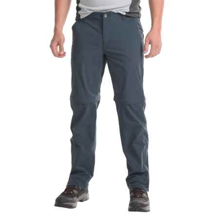 Marmot Transcend Convertible Pants (For Men) in Dark Indigo - Closeouts