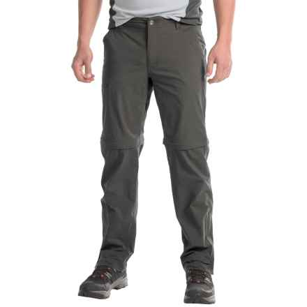 Marmot Transcend Convertible Pants (For Men) in Slate Grey - Closeouts