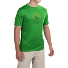 Marmot Transporter T-Shirt - UPF 30, Short Sleeve (For Men) in Green Bean Heather - Closeouts
