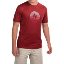 Marmot Transporter T-Shirt - UPF 30, Short Sleeve (For Men) in Team Red Heather - Closeouts