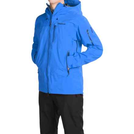 Marmot Trident Gore-Tex® Ski Jacket - Waterproof (For Men) in Cobalt Blue - Closeouts