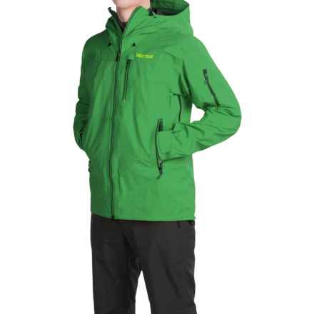 Marmot Trident Gore-Tex® Ski Jacket - Waterproof (For Men) in Green Bean - Closeouts