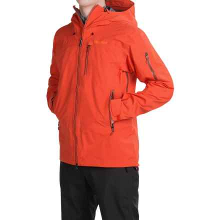Marmot Trident Gore-Tex® Ski Jacket - Waterproof (For Men) in Sunset Orange - Closeouts