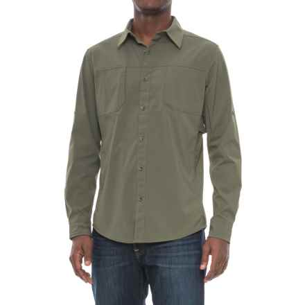 Marmot Trient Shirt - UPF 50+, Long Sleeve (For Men) in Beetle Green - Closeouts