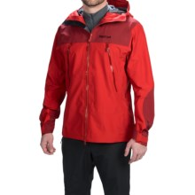 Marmot Troll Wall Gore-Tex® Jacket - Waterproof (For Men) in Team Red/Dark Crimson - Closeouts