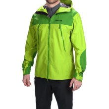 Marmot Troll Wall Gore-Tex® Jacket - Waterproof (For Men) in Vermouth/Rain Forest - Closeouts