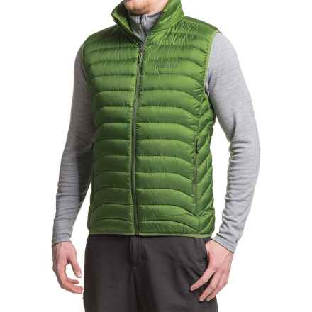 Marmot Tullus Down Vest - 600 Fill Power (For Men) in Alpine Green - Closeouts