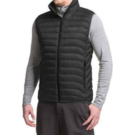 Marmot Tullus Down Vest - 600 Fill Power (For Men) in Black - Closeouts