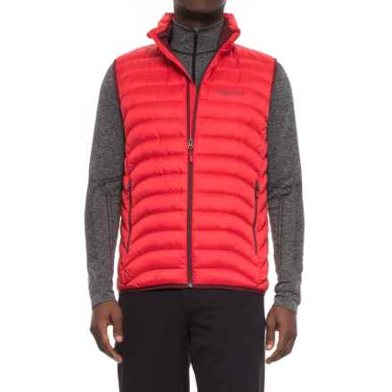 Marmot Tullus Down Vest - 600 Fill Power (For Men) in Team Red - Closeouts