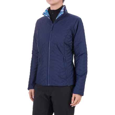 Marmot Turncoat Jacket - Insulated (For Women) in Arctic Navy/Arctic Navy Ice - Closeouts