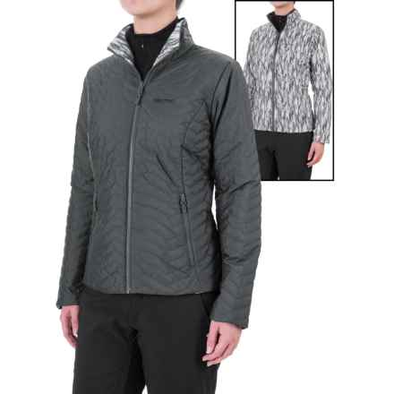Marmot Turncoat Jacket - Insulated (For Women) in Dark Steel/Black Ice - Closeouts