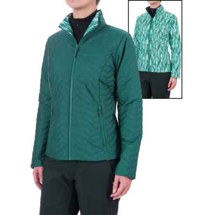 Marmot Turncoat Jacket - Insulated (For Women) in Deep Teal/Deep Teal Ice - Closeouts
