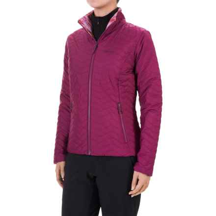 Marmot Turncoat Jacket - Insulated (For Women) in Magenta/Magenta Ice - Closeouts