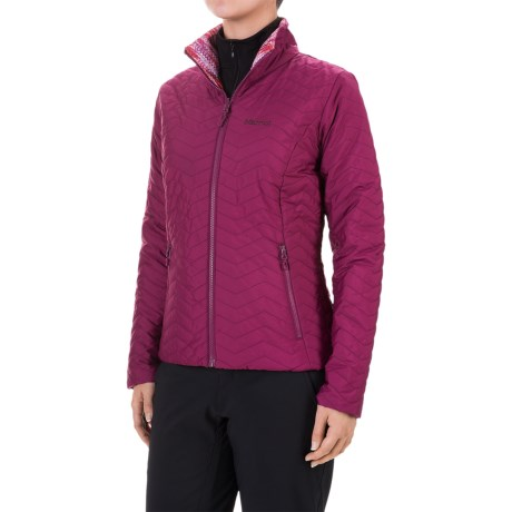 Marmot Turncoat Jacket - Insulated (For Women) in Magenta/Magenta Ice